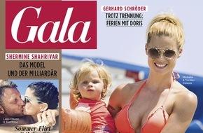 """Gruner+Jahr, Gala: Michelle Hunziker: """"Mit zwei kleinen Kindern bleibt das Liebesleben manchmal einfach auf der Strecke."""""""