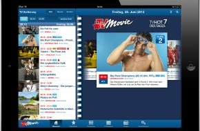 Bauer Media Group, TV Movie: TV Movie startet neue App für iPhone und iPad