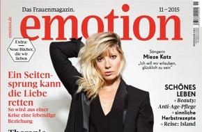"""EMOTION Verlag GmbH: Sängerin Mieze: """"Wenn die Musik nicht funktioniert hätte, hätte ich mich für einen sozialen Beruf entschieden"""""""