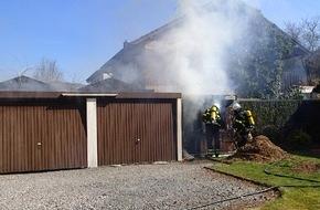Feuerwehr Plettenberg: FW-PL: Schuppenbrand in Plettenberg Ohle