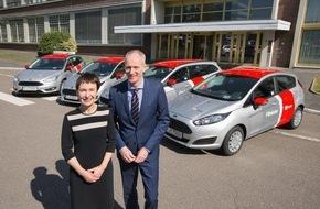 Ford-Werke GmbH: Ford geht mit DB Rent den nächsten Schritt beim Carsharing