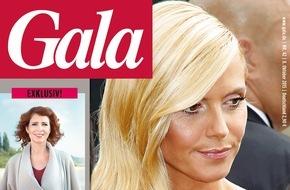 """Gruner+Jahr, Gala: Monica Lierhaus: """"Ohne die Krankheit wäre ich nicht Single"""""""
