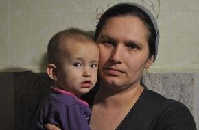 Caritas Schweiz / Caritas Suisse: Caritas apporte une aide d'urgence dans l'est de l'Ukraine (IMAGE)