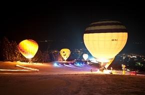 Zell am See-Kaprun: Über weiße Landschaften schweben: Österreichs internationale Ballonwoche in Zell am See-Kaprun