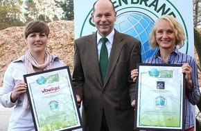 Green Brands: Voelkel und Werkhaus zu den GREEN BRANDS Germany ausgezeichnet
