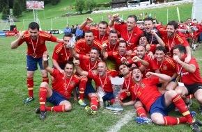 Bergdorf-EM 2012: Bergdorf-EM 2012: Spanien ist Europameister / Ein Orakel für die UEFA EURO?