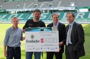 Krombacher Brauerei GmbH & Co.: Abschied mit Stil - Krombacher spendet Erlös aus Gläserverkauf an die Krzysztof Nowak-Stiftung