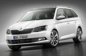 Skoda Auto Deutschland GmbH: Neuer SKODA Fabia Combi begeistert 150.000 Besucher bei seinem Handelsdebüt