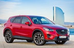 Mazda: Mazda CX-5 2015: Erfolgs-Crossover umfassend aufgewertet