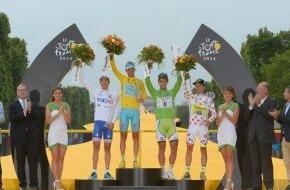 Skoda Auto Deutschland GmbH: Tour-Sieg für Vincenzo Nibali - SKODA gratuliert