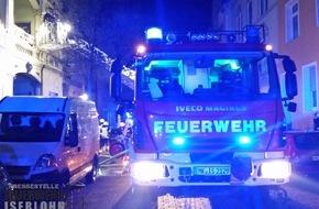 Feuerwehr Iserlohn: FW-MK: Kellerbrand in der Iserlohner Innenstadt