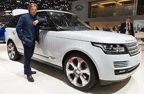 JAGUAR Land Rover Schweiz AG: Enzo Enea: Landschaftsdesigner am Genfer Automobilsalon