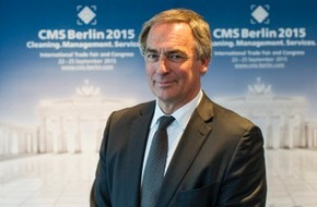 Messe Berlin GmbH: Statement des stellv. Bundesinnungsmeisters Thomas Dietrich im Rahmen des Pressegesprächs zur Messe Cleaning.Management.Services - CMS 2015 am 29. April 2015 in Berlin