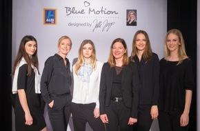 Unternehmensgruppe ALDI SÜD: Erfolgreiche Fashionshow: ALDI SÜD und Designerin Jette Joop präsentieren Blue Motion Kollektion