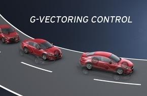 Mazda: Mazda startet Fahrdynamik-Offensive: G-Vectoring Control optimiert Handling und Stabilität