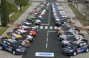 Ford-Werke GmbH: WM-Rallye Polen: Ford der bevorzugte Fahrzeughersteller (FOTO)