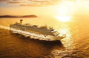 Costa Kreuzfahrten: Heute startet die Costa Deliziosa auf 115-tägige Weltreise zur Südhalbkugel