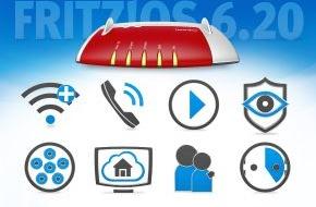 AVM GmbH: Neues FRITZ!OS für mehr Transparenz, Sicherheit und Komfort - 99 Neuerungen