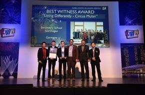 Panasonic Deutschland: Panasonic zeichnet die Gewinner des internationalen Kid Witness News Film-Wettbewerbs 2015 aus / Schüler aus Isernhagen erhalten einen der begehrten KWN-Awards bei Preisverleihung in Singapur