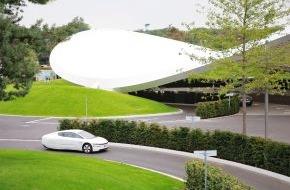 Autostadt GmbH: XL1 Testfahrten in der Autostadt