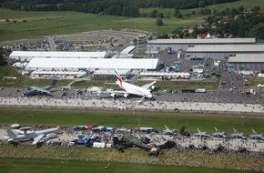 Messe Berlin GmbH: ILA 2016 optimiert Messelaufzeit / ILA Berlin Air Show präsentiert vom 1. bis 4. Juni 2016 High Tech aus allen Geschäftsfeldern der Luft- und Raumfahrtindustrie