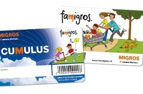 Migros-Genossenschafts-Bund: Famigros, le nouveau club Migros spécialement dédié aux familles, ouvre ses portes virtuelles