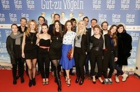 Constantin Film: Weltpremiere für GUT ZU VÖGELN in Berlin begeistert vom Publikum gefeiert