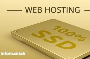 Infomaniak: Première suisse: Infomaniak équipe ses Datacenters avec des disques durs SSD / Amélioration significative des performances (IMAGE)