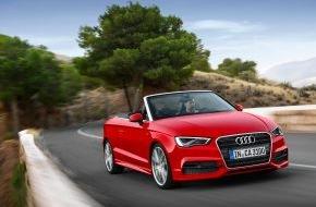 Audi AG: AUDI AG: Rekord-Quartal mit über 400.000 Auslieferungen