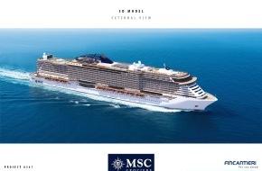 MSC Kreuzfahrten: MSC Cruises et Fincantieri signent un contrat pour deux nouveaux navires/MSC Cruises investit 2,1 milliards d'euros pour deux navires de croisière ultra-modernes, y compris l'option d'un troisième bâtiment