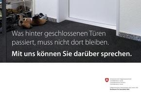 Blaues Kreuz Schweiz: Alkohol und häusliche Gewalt: doppelte Last für Betroffene