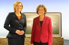 SWR - Südwestrundfunk: Hilfestellung für die Wahlentscheidung / TV-Duell zwischen Malu Dreyer und Julia Klöckner am 1. März live im SWR Fernsehen bot Schlagabtausch zwischen den Spitzenkandidatinnen von SPD und CDU