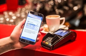 Vodafone GmbH: Weltpremiere: Erste girocard-Transaktion mit girocard mobile und Vodafone Wallet