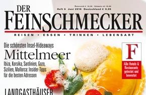 """Jahreszeiten Verlag, DER FEINSCHMECKER: """"DER FEINSCHMECKER kürt die besten Olivenöle der Welt"""""""
