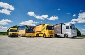 Mercedes-Benz Schweiz AG: Mit Sicherheit führend: Bei Lkw, Transportern und Omnibussen von Mercedes-Benz und Setra