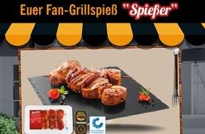 """LIDL: Lidl-Facebook-Fans kreieren """"Besten Grillspieß"""" der Saison / Die Grill-Kreation """"Spießer"""", die im Rahmen einer Lidl-Fan-Aktion erfunden wurde, ist ab 13. Juli 2015 in allen Lidl-Filialen erhältlich"""