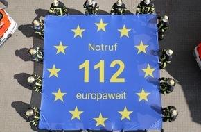 Kreisfeuerwehrverband Calw e.V.: FW-CW: Lebensretter wird 25 Jahre alt. Der Notruf 112 rettet Leben - europaweit.