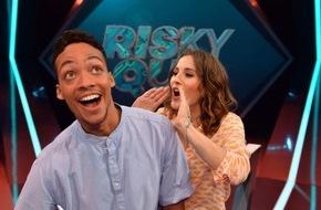"""ProSieben MAXX: No risk, no fun! Jeannine Michaelsen und Aurel Mertz moderieren Quiz-Comedy-Show """"Risky Quiz"""" auf ProSieben"""