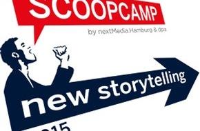 dpa Deutsche Presse-Agentur GmbH: Ideen für die Zukunft des Journalismus: Anmeldung zum scoopcamp 2015 gestartet
