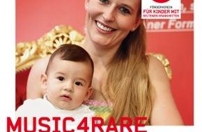 Kinder mit seltenen Krankheiten - Gemeinnütziger Förderverein: Musikstars zeigen ein Herz für Kinder mit seltenen Krankheiten - «Music4Rare»