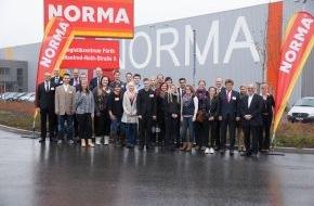 NORMA: Note 1,0 für die Zukunft von NORMA! / NORMA-Azubis mit Managern im Gespräch - offener Dialog beim Nürnberger Discounter