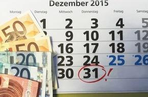 DVAG Deutsche Vermögensberatung AG: Jetzt Zulagen sichern: Zu viele Riester-Sparer verschenken Geld / Die DVAG erinnert: Bis zum 31. Dezember können staatliche Zulagen für das Beitragsjahr 2013 noch rückwirkend beantragt werden