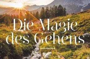 """Österreichs Wanderdörfer: Österreich Schritt für Schritt entdecken - Österreichs Wanderdörfer und die """"Magie des Gehens"""""""