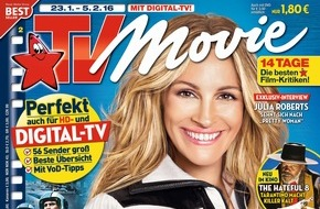 "Bauer Media Group, TV Movie: Julia Roberts in TV Movie: ""Ich will den Triumph"""