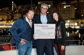 """SKL - Millionenspiel: """"Träume muss man sich erfüllen, wenn man kann."""" - Peter Stüve aus Hamburg gewinnt 1 Million Euro beim neuen SKL-Millionen-Event"""
