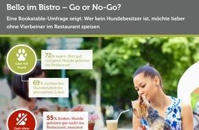 Bookatable GmbH & Co.KG: Bello im Bistro - Go or No-Go? / Eine Bookatable-Umfrage zeigt: Wer kein Hundebesitzer ist, möchte lieber ohne Vierbeiner im Restaurant speisen