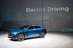 Audi AG: Antriebskompetenz von ultra bis e-tron: Audi auf der IAA 2015