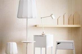 IKEA Deutschland GmbH & Co. KG: Neue IKEA Design-Kollektion mit kabelloser Ladefunktion: Möbel mit innovativer Technik machen das Leben zu Hause noch angenehmer