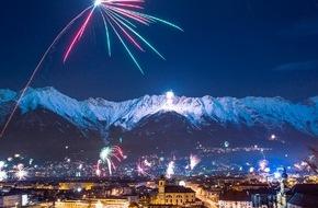 Innsbruck Tourismus: Innsbrucker Bergsilvester: Feurige Berge, tanzende Stadt