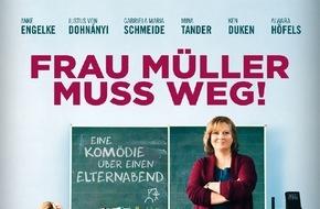 Constantin Film: FRAU MÜLLER muss bleiben / 1 Mio Besucher im Kino